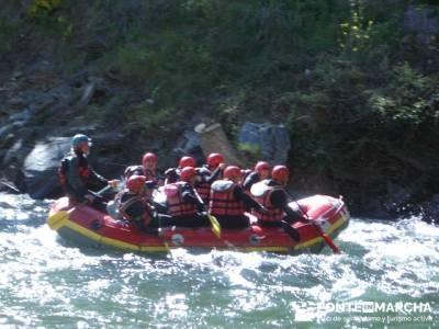 Rafting Noguera Pallaresa - Parque Nacional de Aigüestortes y Lago San Mauricio; pedraza velas